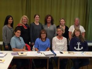 Kontaktsköterskor och utvecklingsledare för RCC Väst
