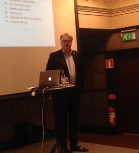 Magnus Norin från Melanomföreningen