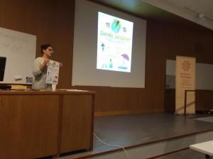 Shirin Bartholdsson, RCC Väst berättade om projektet Sunda Solvanor