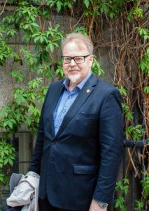 Magnus Norin - Melanomföreningens ordförande