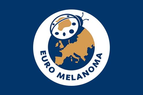 Logotyp för Euromelanoma